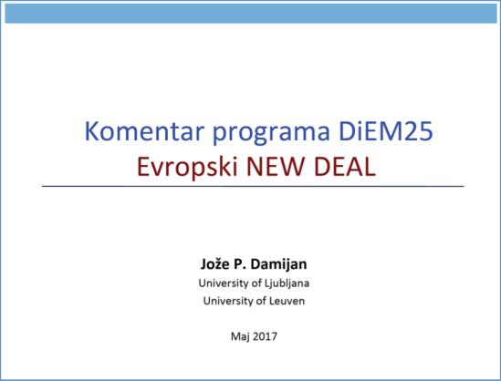 DiEM program