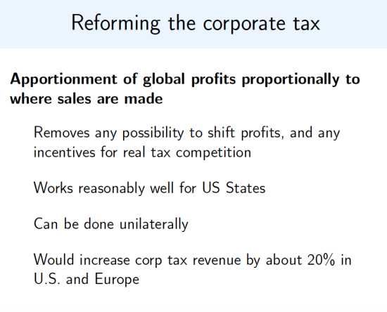 Zucman-Tax reform